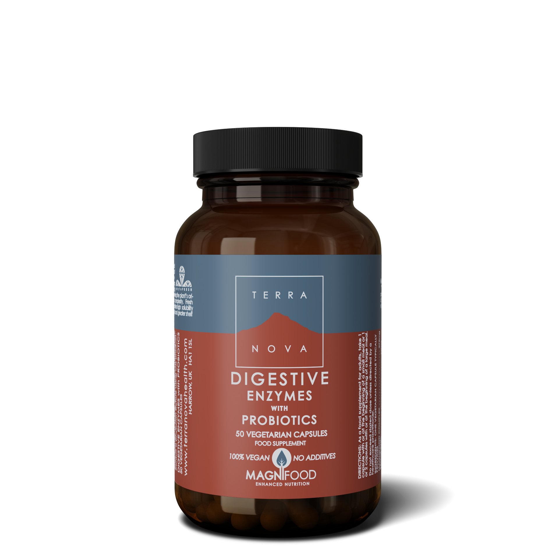 0769 UK DIGESTIVE ENZYME WITH PROBIOTICS 50 wiz