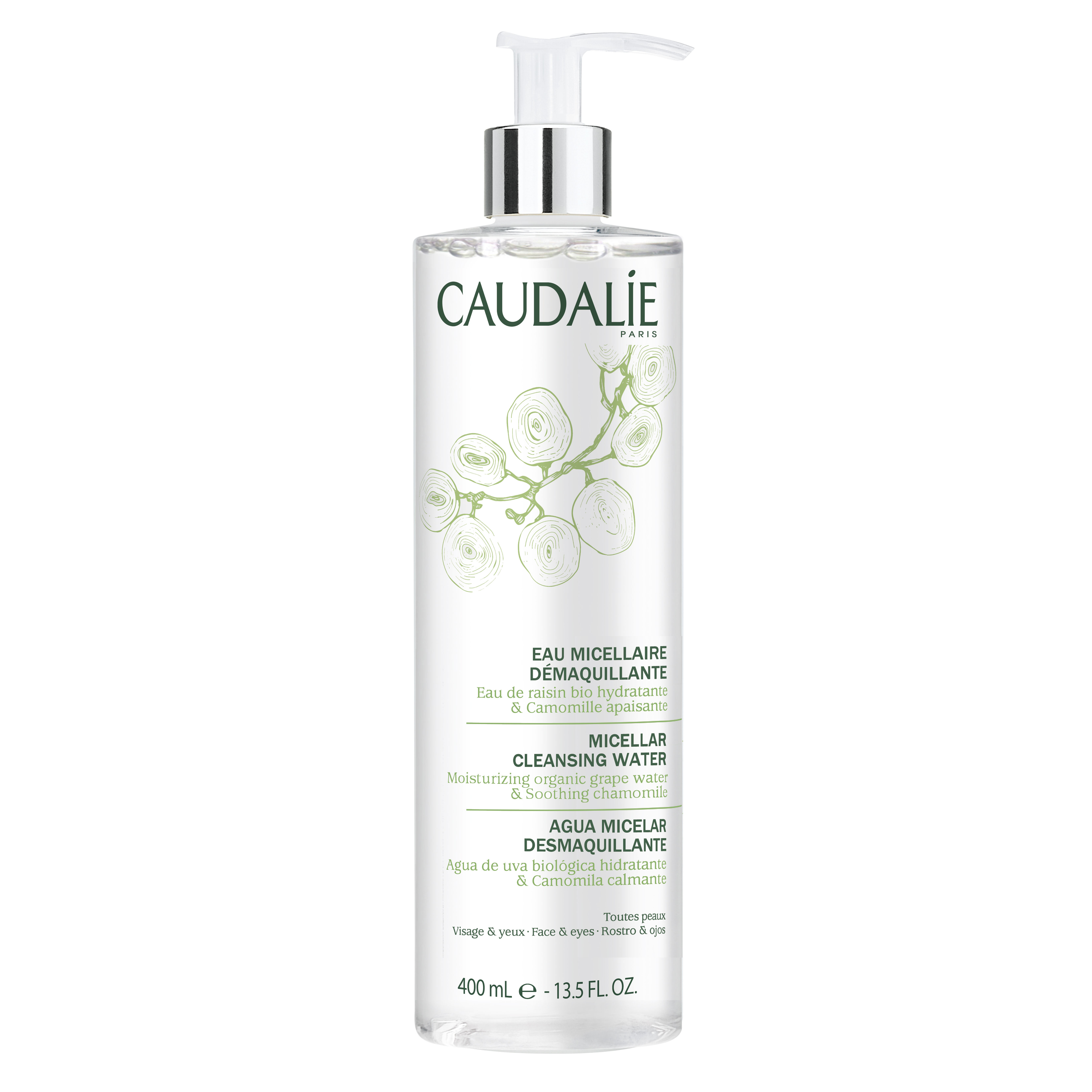 153 3522930001539 Caudalie Micellar Water 400ml