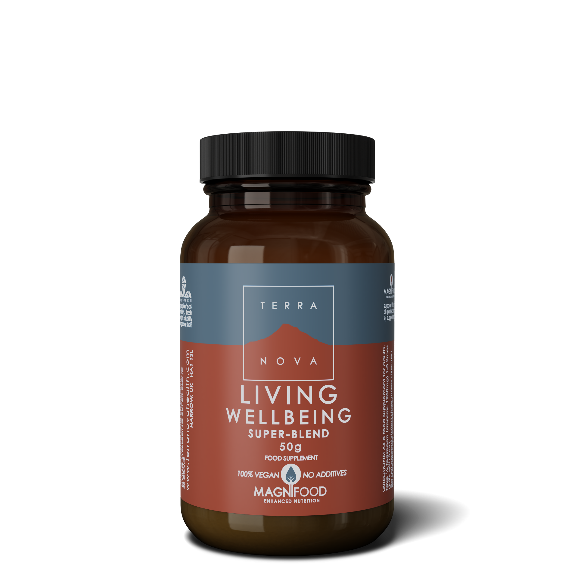 1988 UK LIVING WELLBEING SUPERBLEND 50g wiz