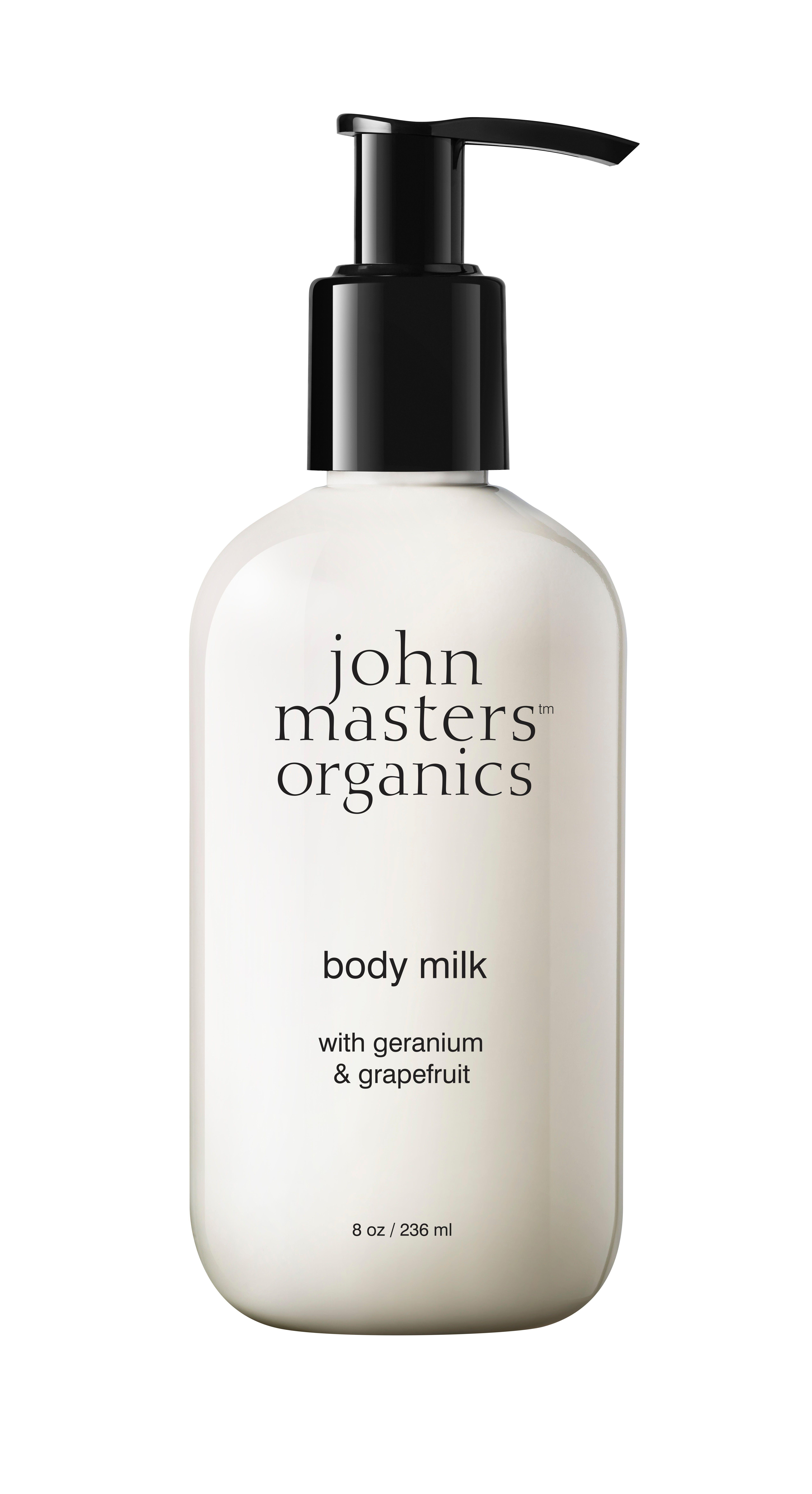 Body Milk with Geranium Grapefruit
