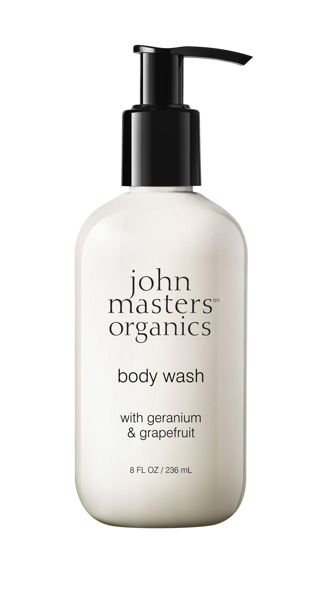 Body Wash with Geranium Grapefruit