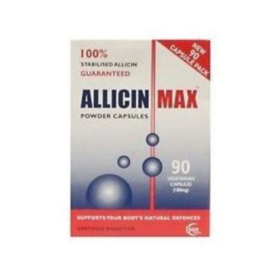 Allicin max 90 powdercaps 20170928 114338