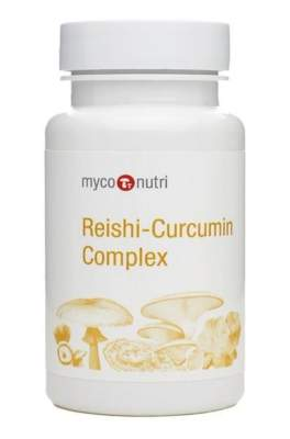 Reishi curcumin bottle